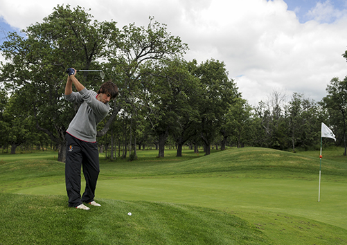 El golfista Dani Berná, Premio Provincial del Deporte 2014