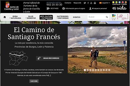 El Camino de Santiago sigue creciendo en Castilla y León