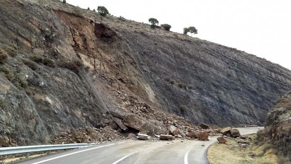 La carretera de Yanguas a Arnedo se abre al tráfico esta tarde