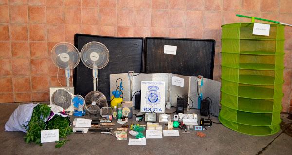 Ingresa en prisión un vecino de Soria que cultivaba y traficaba con drogas