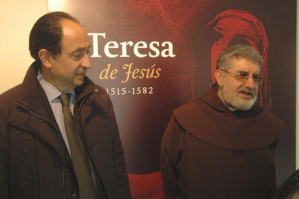 Una muestra para resaltar el legado religioso y literario de Santa Teresa
