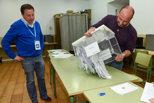 Menos participación en las elecciones locales