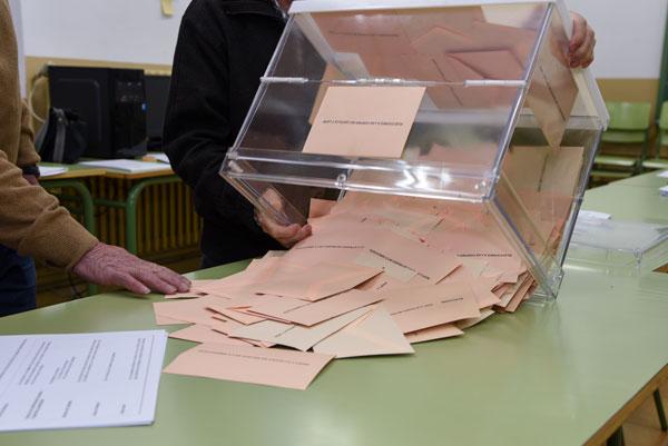 Todo preparado para la fiesta de la democracia