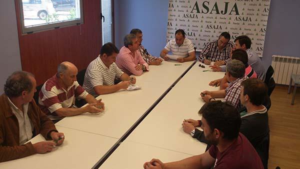 ASAJA Soria elige a su comité ejecutivo, marcado por la continuidad