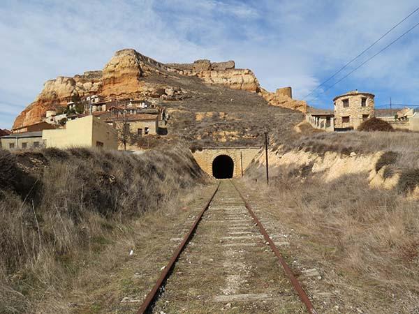 Tierras Sorianas del Cid monta una exposición sobre la posible utilización de la Valladolid-Ariza