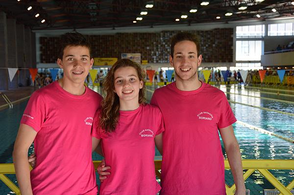 Seis medallas de la natación soriana en Ávila