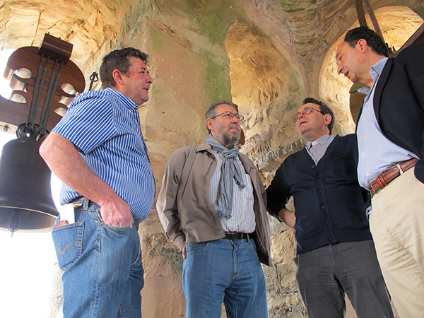 La Junta da por terminadas las obras de mantenimiento en la colegiata de Medinaceli