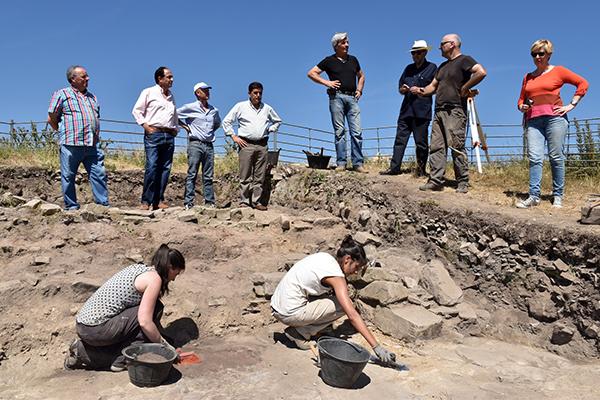 Las excavaciones de Los Casares se centran en una vivienda compartimentada en estancias