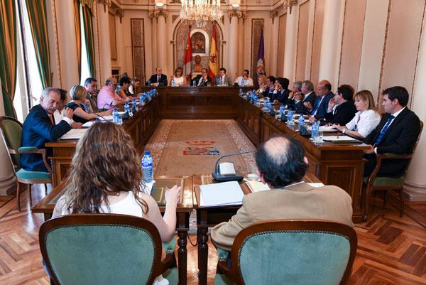 PSOE y C´s dictaminan el presupuesto de la Diputación para 2016
