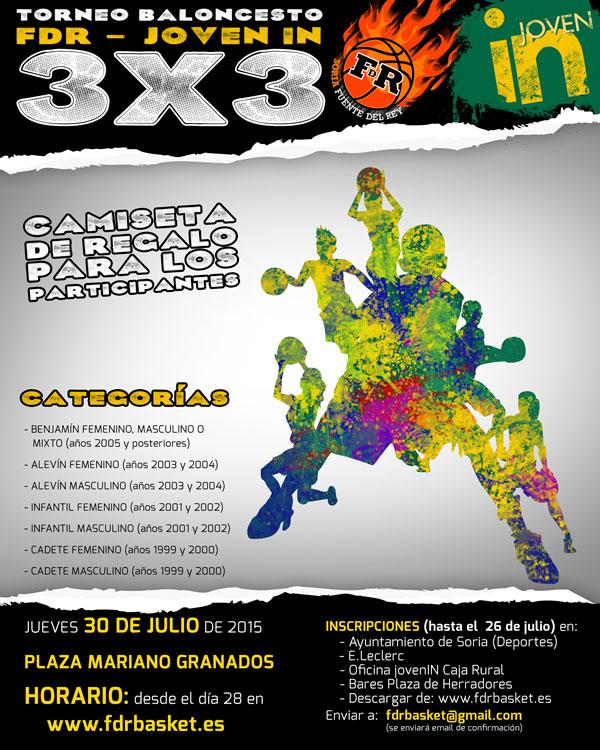 Torneo de baloncesto 3x3 en la plaza mariano granados for Horario oficinas caja rural