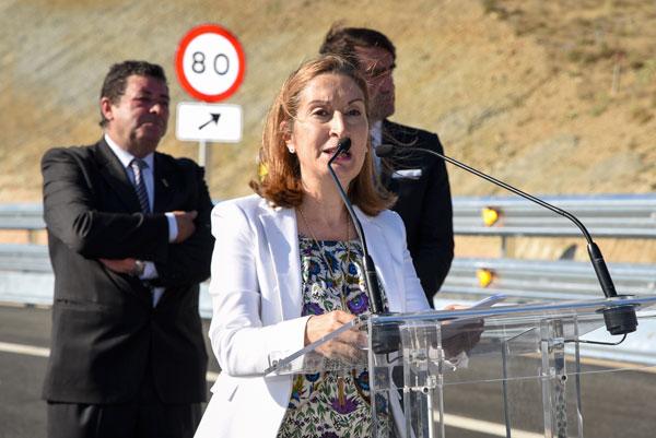 """Pastor confirma que las obras en la A-11 se han retomado para """"no parar nunca más"""""""