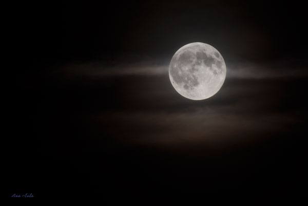 La súper Luna de agosto