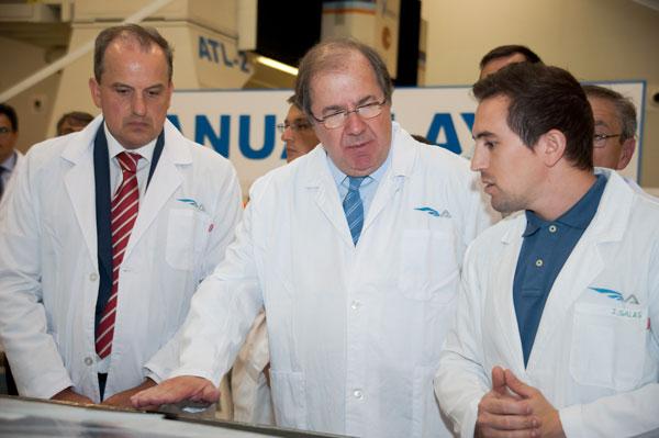 Herrera subraya que el crecimiento económico de la región está asentado sobre bases sólidas