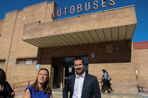 El PSOE pide que se adapten los horarios de los autobuses entre Soria y Valladolid