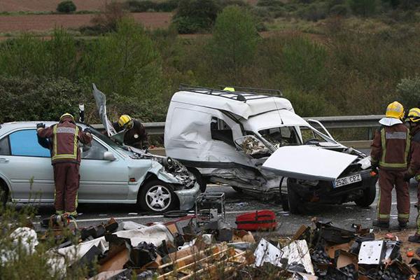 Menos víctimas mortales en las carreteras de Castilla y León en este verano