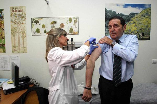 La campaña de vacunación frente a la gripe se extenderá entre el 20 de octubre y el 5 de diciembre