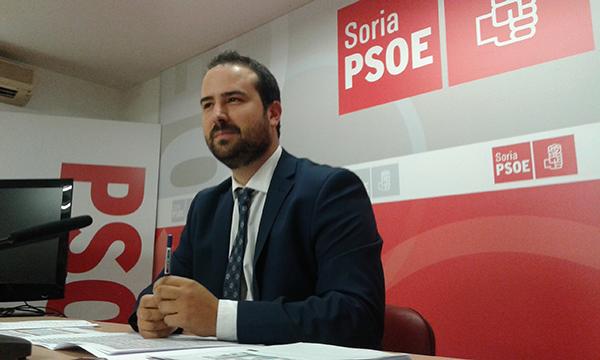 """La Junta """"entierra"""" a Soria en sus presupuestos de 2016, según el PSOE"""