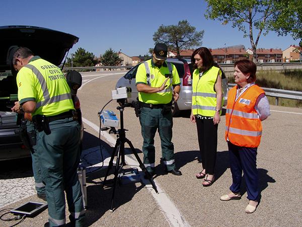 Tráfico incrementa la vigilancia en las carreteras convencionales
