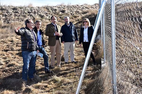 La Junta repara el cerramiento metálico del yacimiento de Numancia