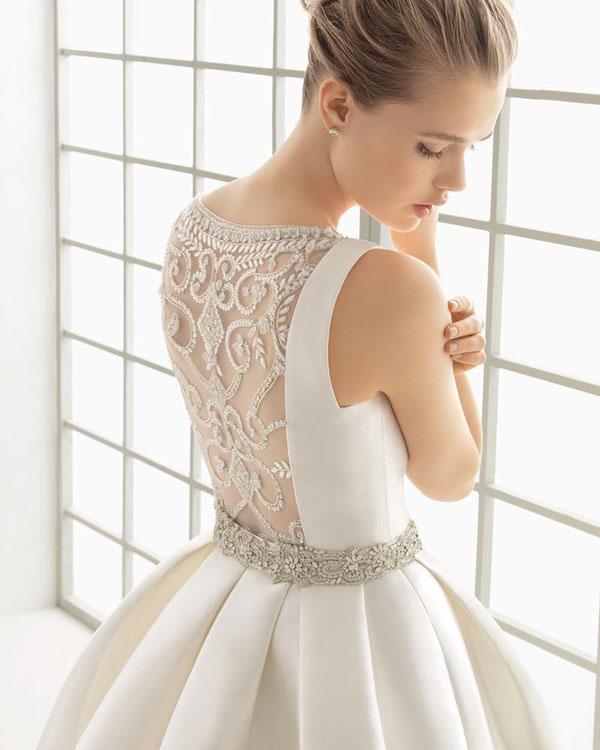 Vestidos novia rosa clara precios