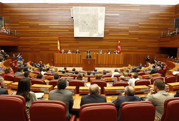 El Partido Castellano denuncia el acuerdo de la Mesa de las Cortes