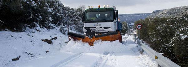 Más de 1.300 profesionales forman el operativo de vialidad invernal diseñado por la Junta