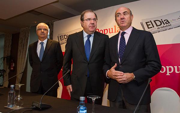 Herrera afirma que Castilla y León está ya en posición de crear más empleo y de mayor calidad