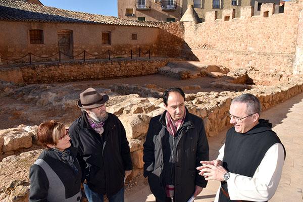 La Junta restaura las estructuras arqueológicas de la entrada al monasterio de Santa María de Huerta