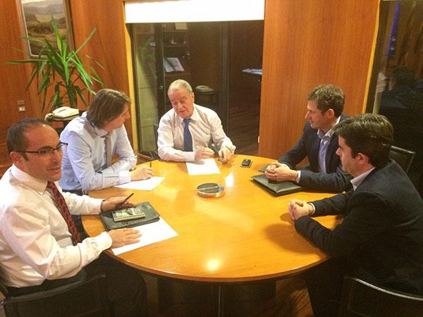 Frente común para atraer fondos europeos