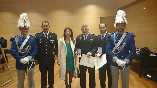 Medalla de plata para dos policías locales de Soria