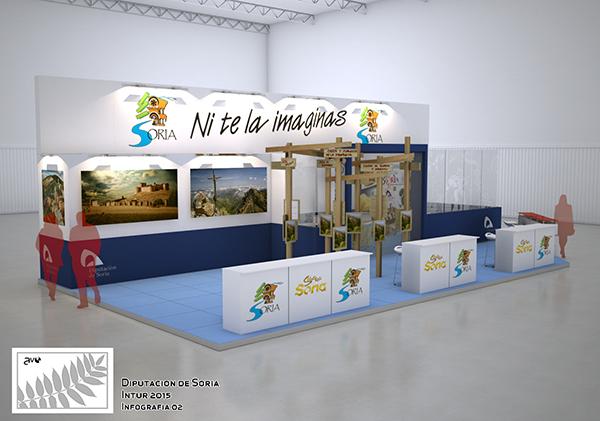 Presentaciones, talleres, catas y proyeccciones turísticas en el stand de la Diputación en INTUR
