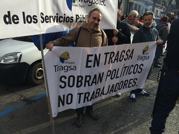 CSI-F pide a las administraciones que paralicen el ERE en Tragsa