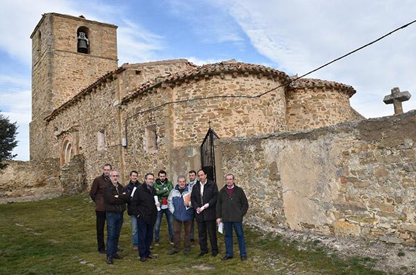 La Junta inicia las obras de la singular iglesia románica de Cerbón