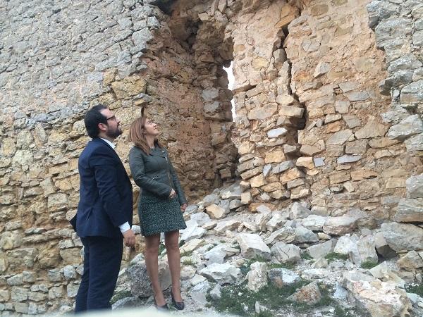 "El PSOE urge a actuar en el castillo de Caracena, ""en grave riesgo de derrumbe"""
