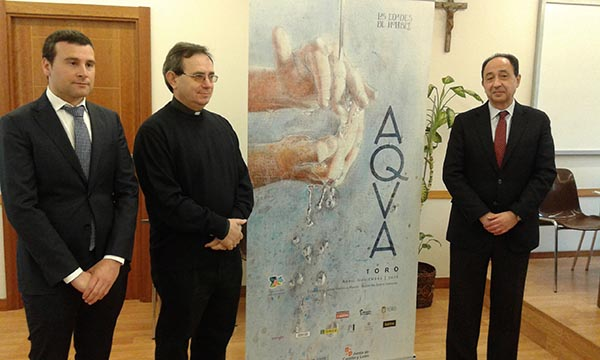 """El tapiz """"Elías y el ángel"""", de Oncala, se expondrá en """"Aqua"""""""