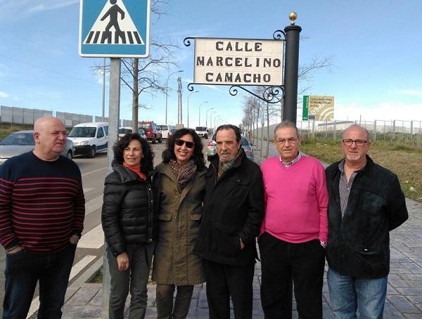 Ecija dedica una calle a Marcelino Camacho