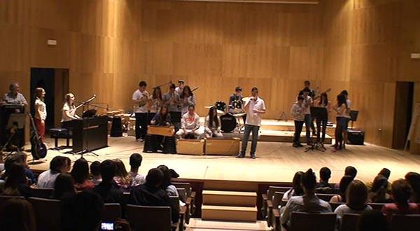 """""""Ahí va ESO"""" reúne a 350 alumnos de ocho centros educativos en torno a la música"""