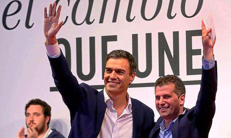 """Tudanca: """"Hoy es un día muy triste para el PSOE y para los españoles"""""""