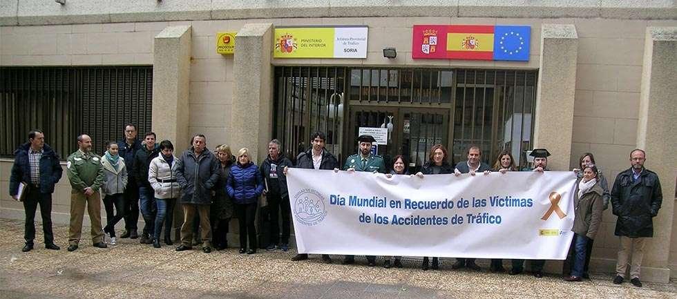 Tr fico recuerda a las 18 v ctimas mortales de los - Jefatura provincial de trafico de albacete ...