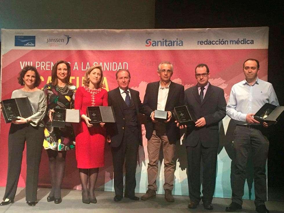 Los farmacéuticos de Castilla y León reciben el Premio Sanitaria 2000