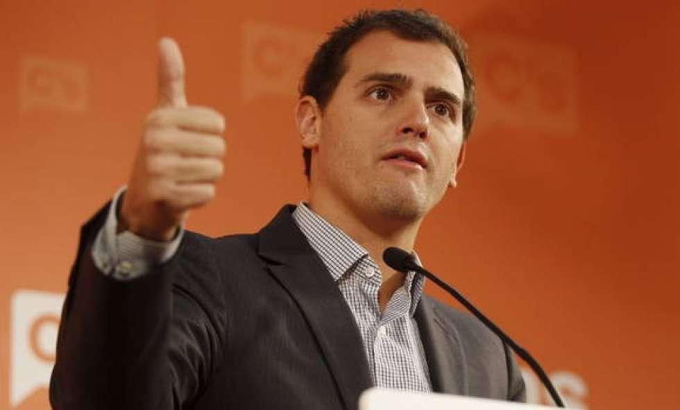 Albert Rivera, el jefe preferido por los castellanos y leoneses