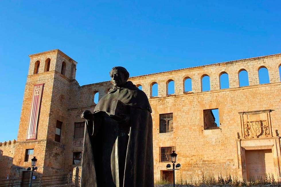 Berlanga de Duero celebra la festividad laica de Fray Tomás de Berlanga