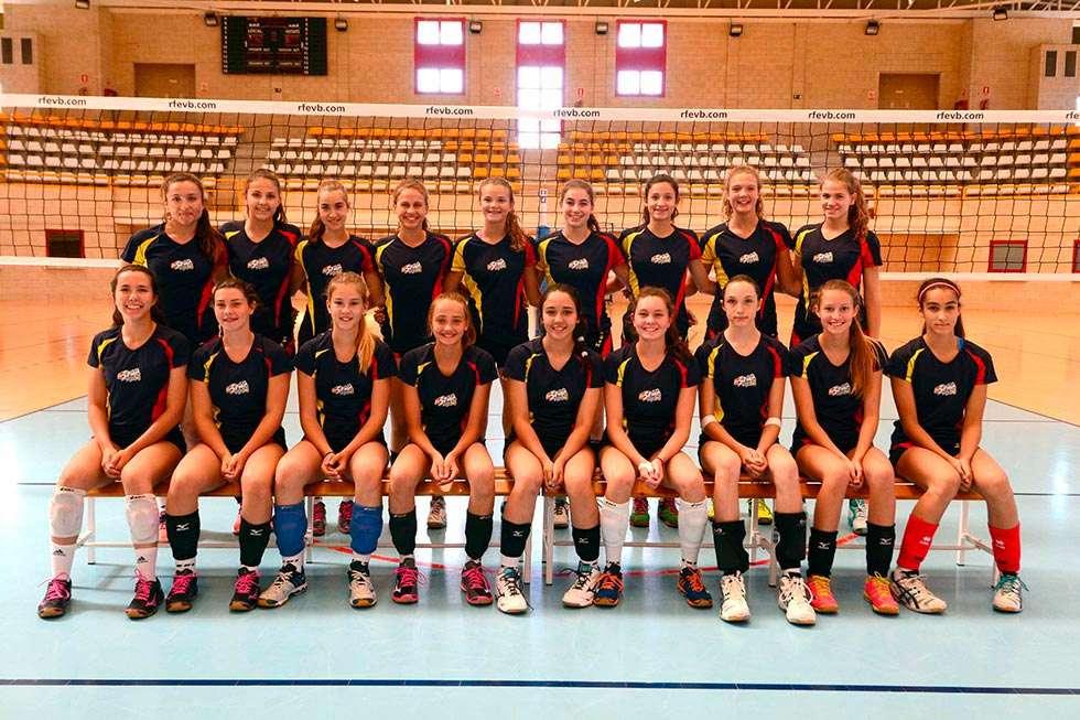 Concentración en Soria de la selección femenina sub 16