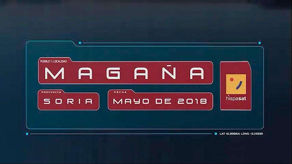 Magaña gana el concurso de Hispasat y tendrá Internet gratis