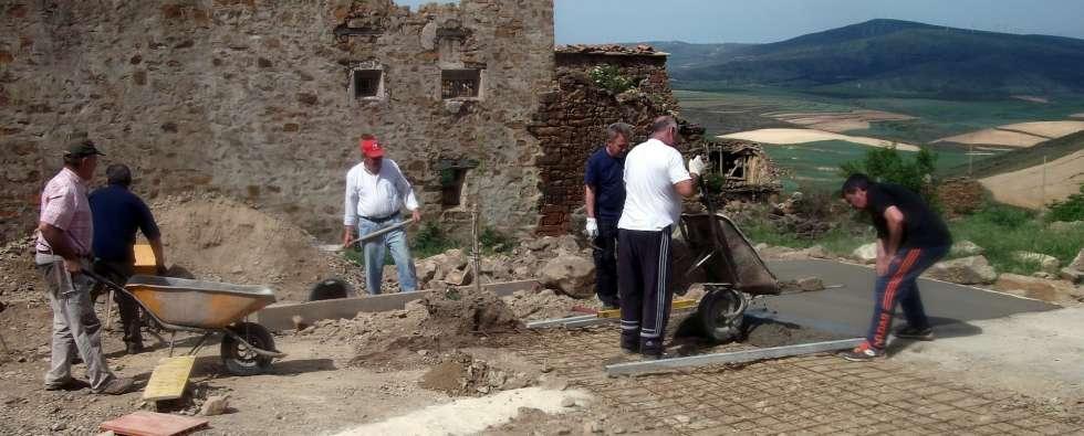 Sarnago sigue recuperando su plaza con otra nueva hacendera