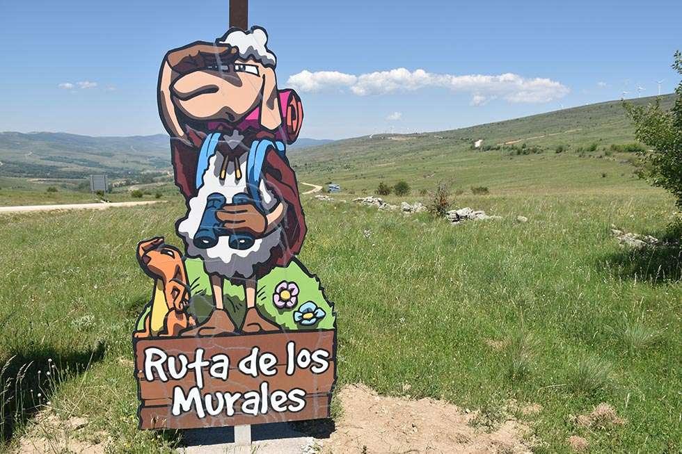 Pelendona guía a los turistas en Tierras Altas