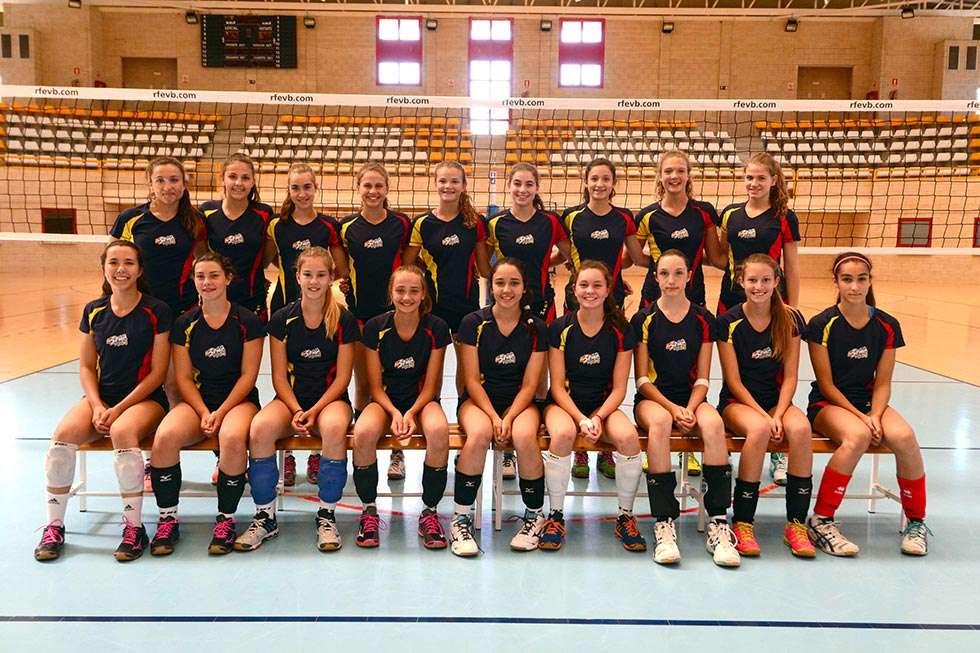 El CAEP acoge un bilateral España-Perú de voleibol femenino
