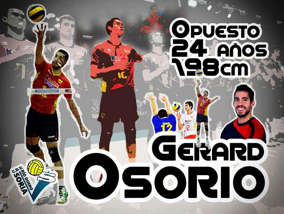 El internacional español Osorio suple al francés Winkelmuller en Río Duero