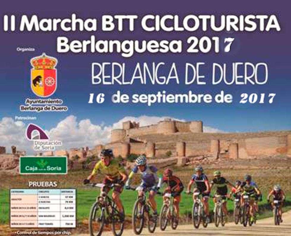 La II Marcha BTT Cicloturista Berlanguesa será el 16 de septiembre