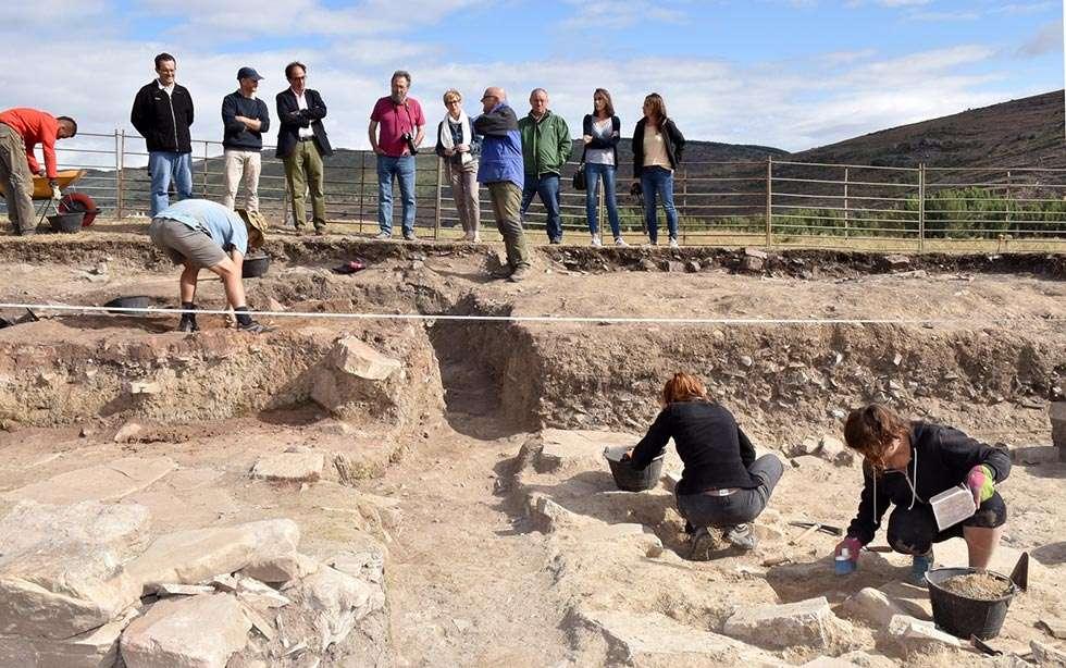 Los Casares busca concluir la excavación de una vivienda visigoda-altomedieval